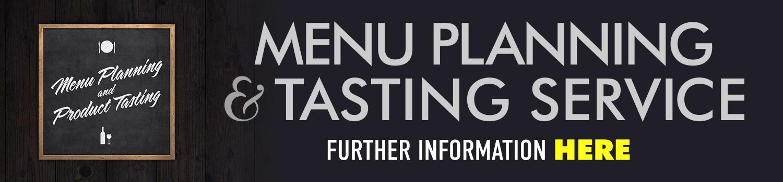 Menu Planning & Tasting Service